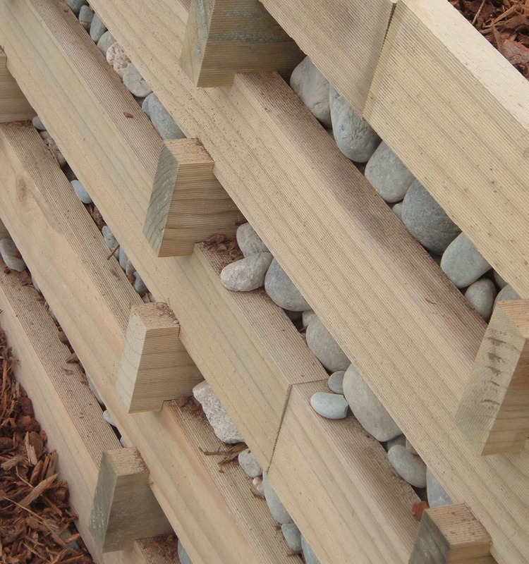 Unique Retaining Crib Wall System Prolam Prowood Nz